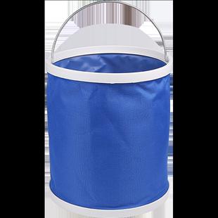 汽車用摺疊水桶收縮桶車載洗車專用桶便攜式户外旅行釣魚可伸縮筒