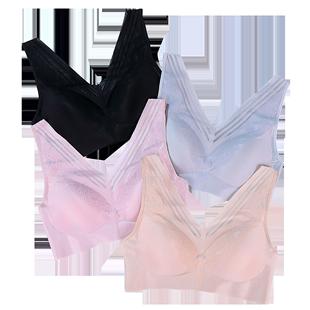 zs韩国风带胸垫运动无钢圈背心胸罩