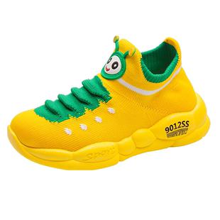 毛毛虫幼儿园女童运动鞋2019年童鞋