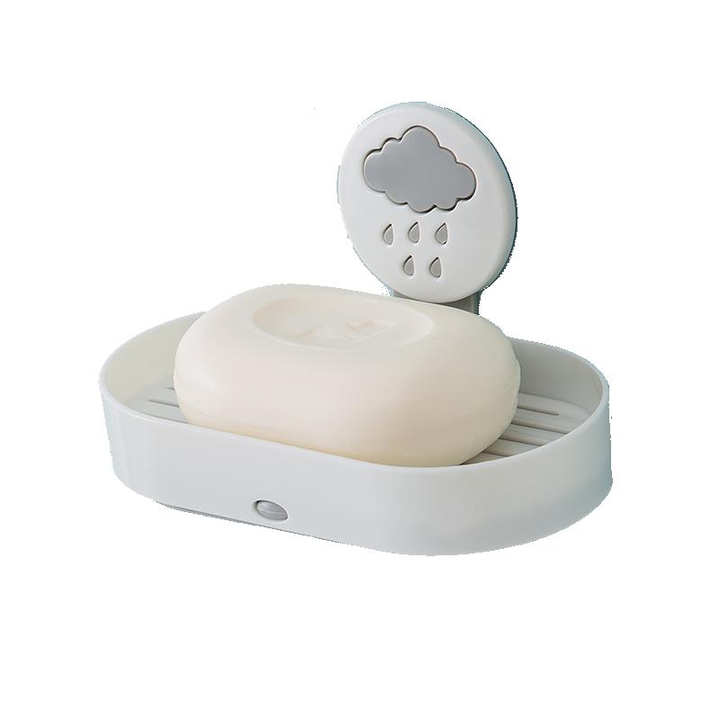 【居家必备】免打孔浴室肥皂盒