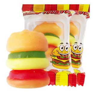 qq橡皮糖果汁汉堡小时候小孩礼包