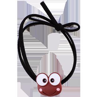 兒童皮筋不傷發小青蛙頭繩頭飾可愛卡通發繩寶寶髮圈扎頭髮飾女童