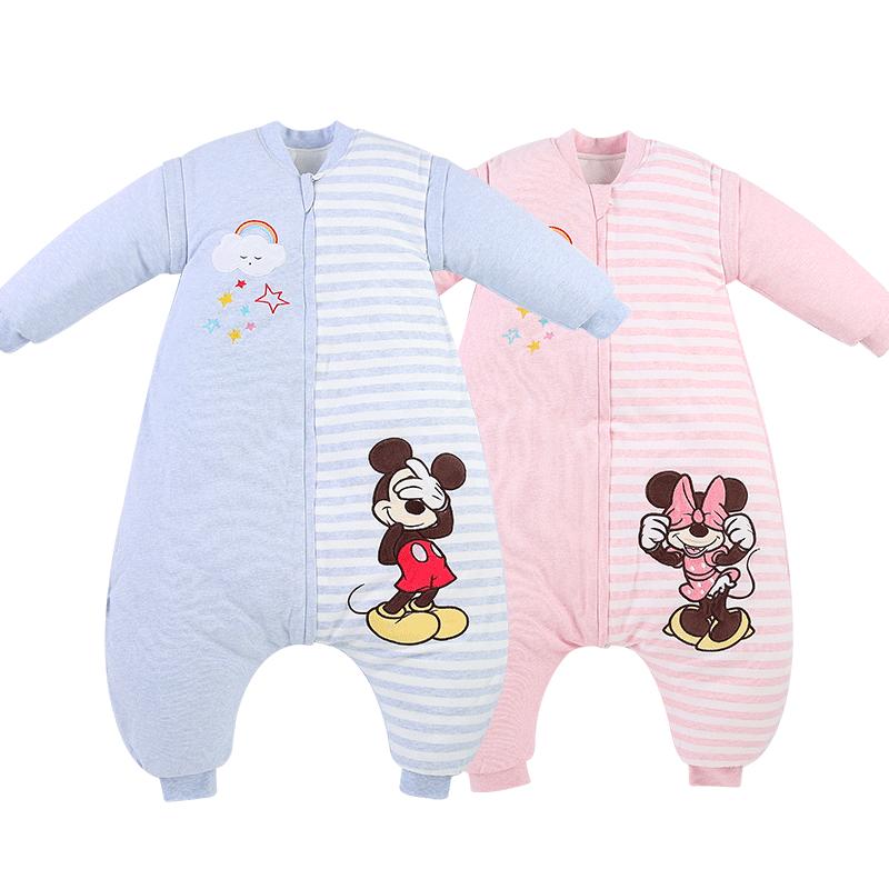 迪士尼儿童分腿式睡袋空调被