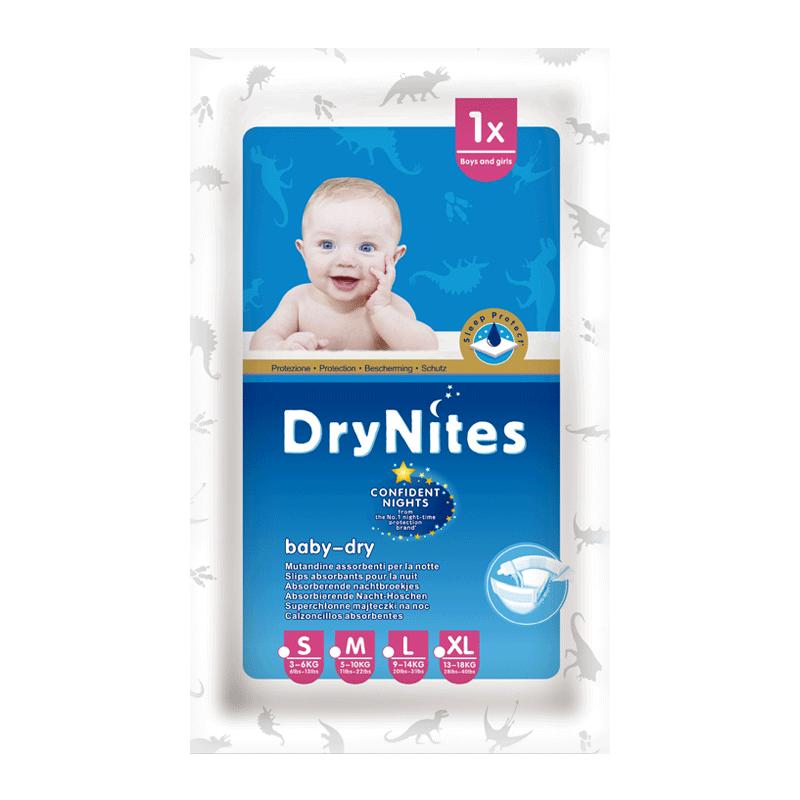 婴儿纸尿裤夏天透气超薄L码10片试用装