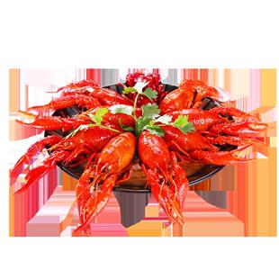 湖北潜江油焖大虾香辣味蒜蓉小龙虾