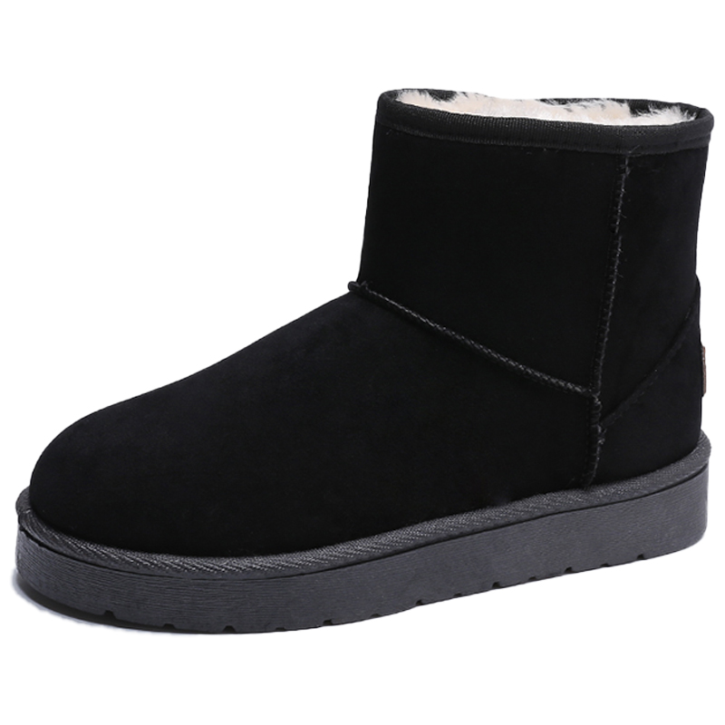 雪地靴2020新款秋冬季百搭加绒女鞋质量如何
