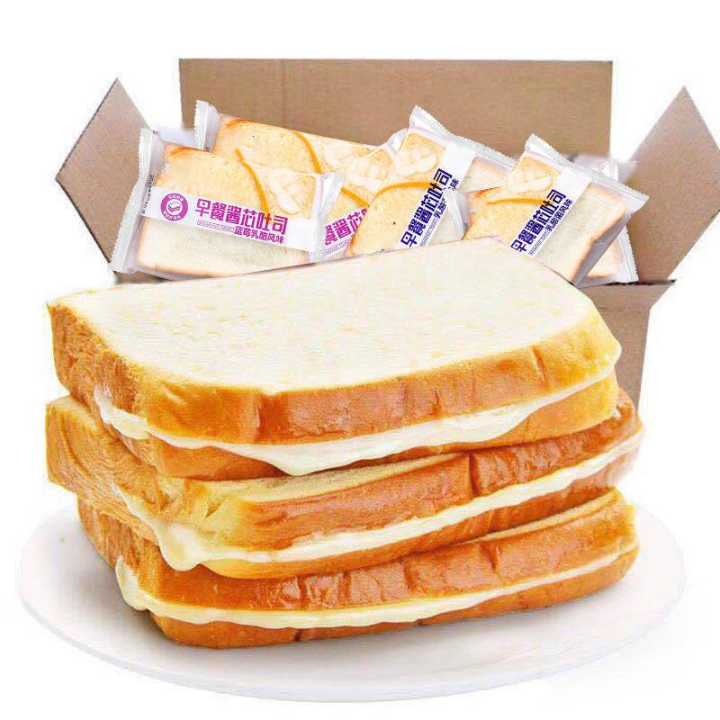 芯吐司面包切片蛋糕营养早餐休闲酱