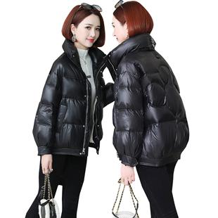 冬季2020新款羽絨服女裝保暖白鴨絨中長款時尚小個子外套韓版寬鬆