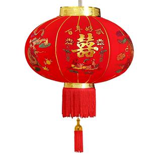 喜字大紅燈籠婚慶室外婚禮防水大門門口裝飾結婚燈籠喜慶户外掛飾