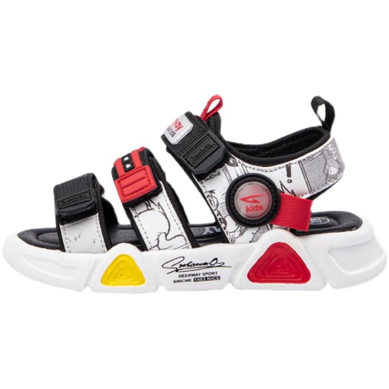 德尔惠男童凉鞋2021夏季新款中大童儿童时尚软底男孩休闲沙滩鞋子