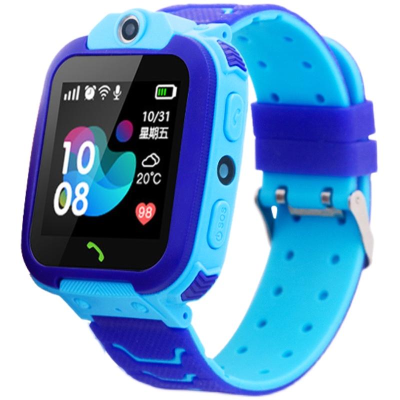 儿童智能电话手表防水定位可视屏