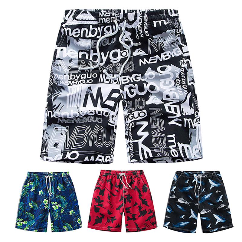夏天男宽松速干沙滩裤休闲潮短裤