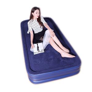 舒士奇充气床加高双人家用双层床垫
