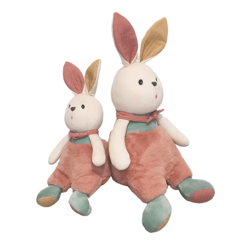 小兔子玩偶睡觉抱毛绒玩具女孩生日礼物可爱布娃娃公仔儿童玩具萌