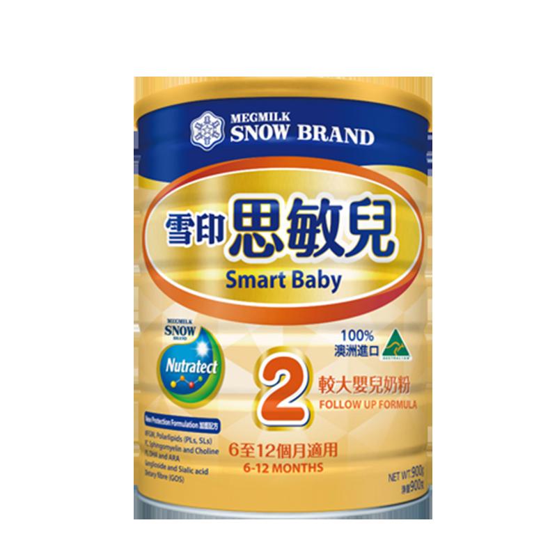 【预售】【雪印】思敏儿2段婴儿配方牛奶粉900g