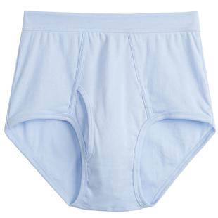 三槍內褲男白色純棉中老年高腰寬鬆褲頭全棉紅色本命年男士三角褲