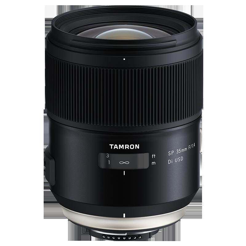 现货 腾龙 SP35mm F/1.4 F045 人像定焦单反镜头 尼康佳能35 F1.4