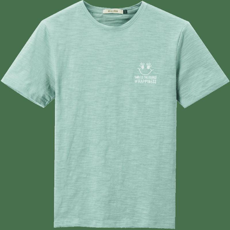 【海澜之家】海一家男士纯棉圆领短袖T恤