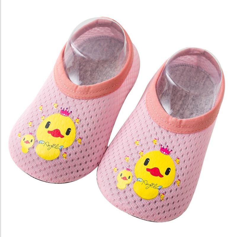 薄款地板袜儿童防滑软底婴儿学步鞋袜子夏天室内隔凉透气宝宝袜套