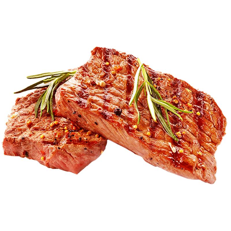 【牧标】家庭牛排新鲜整切牛排套餐10片