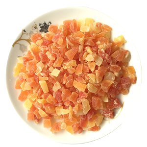 泰国木瓜丁木瓜碎散装1kg燕麦原料