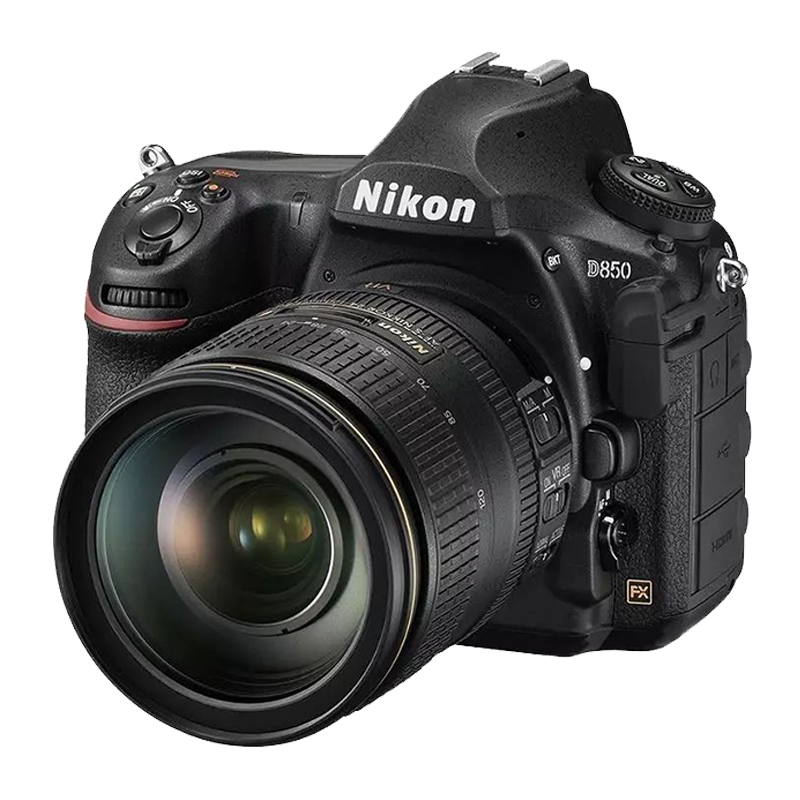 尼康D850单反相机身/24-120/70/200全画幅高清数码旅行婚纱照相机