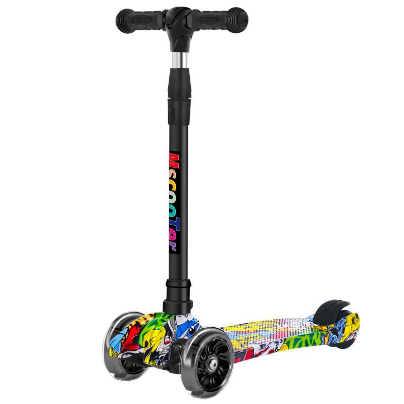 2-3-6一12岁8以上小孩踏板滑板车