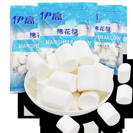 伊高500g白色原味牛扎糖diy棉花糖