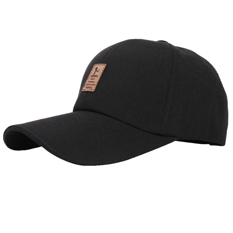 男士春夏户外运动棒球帽 时尚鸭舌帽防晒帽子春秋韩版潮女士帽