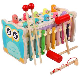 幼兒益智力早教釣魚玩具寶寶兒童一至二1-2周半3歲兩磁性男女小孩