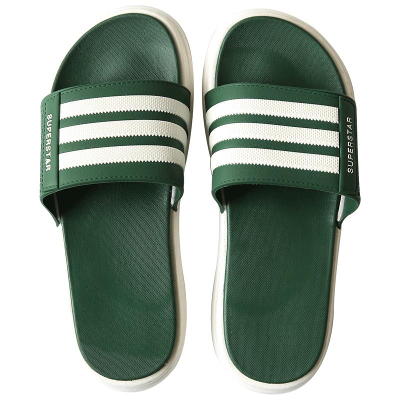 droptheother拖鞋男夏时尚外穿韩版潮软底室外沙滩凉拖防滑一字拖