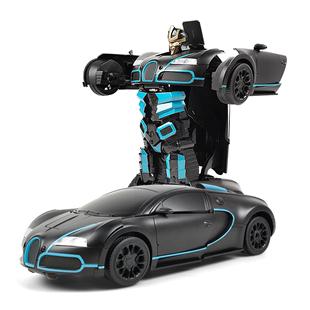 佳奇新品感应变形机器人无线遥控车
