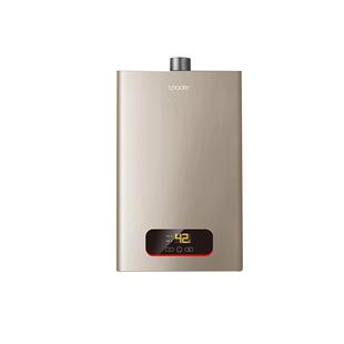 海爾出品 12升燃氣熱水器強排式 變頻恆温天然氣家用洗澡 統帥