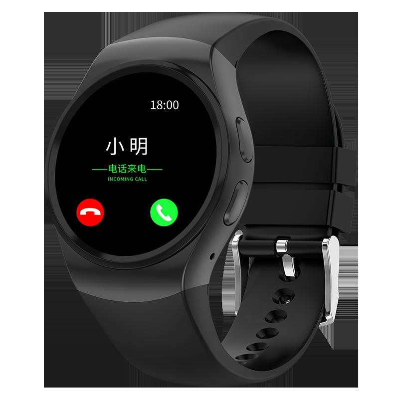 智能手表男多功能可插卡电话手表女触摸屏