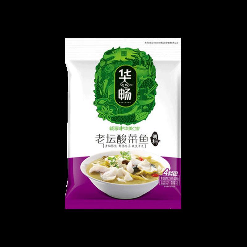 华畅老坛酸菜鱼调料包300g
