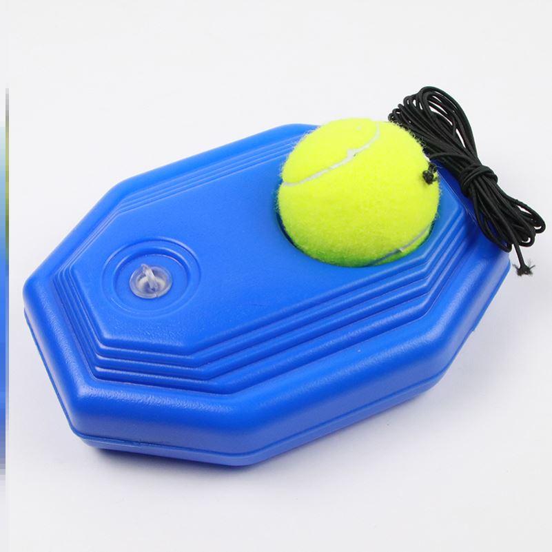 网球训练器底座初学者单人专业练习器带线回弹陪练套装弹力绳