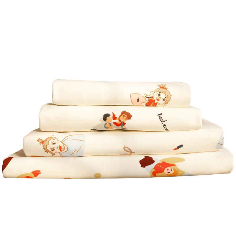 隔尿垫婴儿防水可洗四季宝宝隔夜垫纯棉大号儿童透气床单尿布床垫