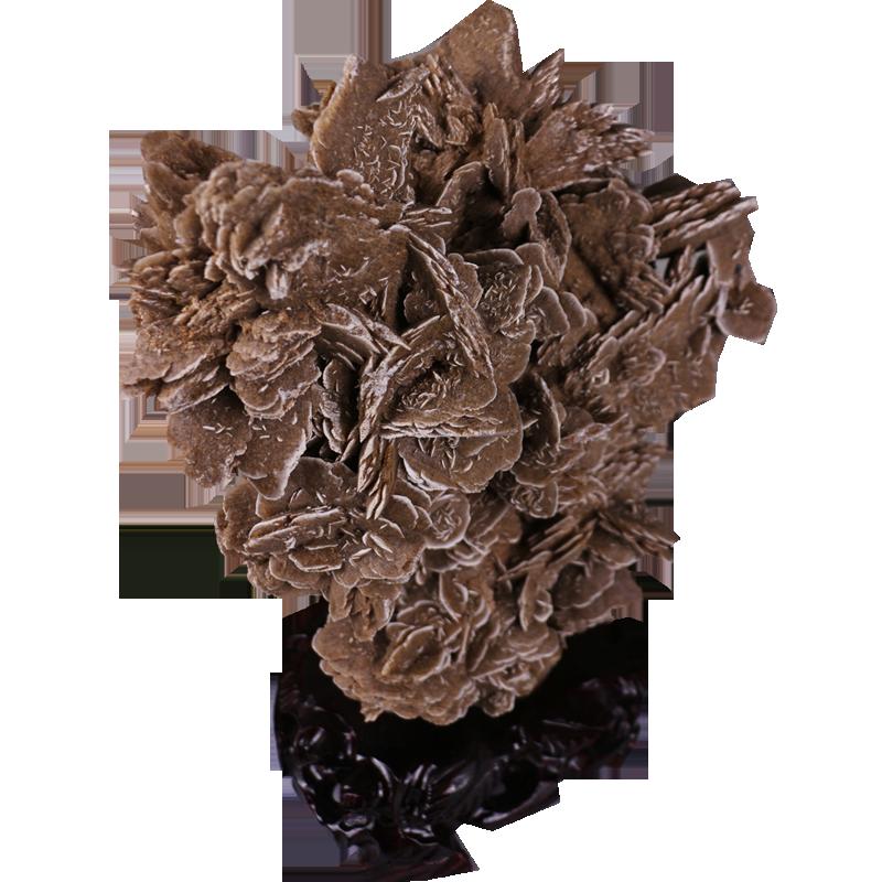 天然沙漠玫瑰原石矿物晶体标本奇石开业乔迁礼品情人礼物家居摆件