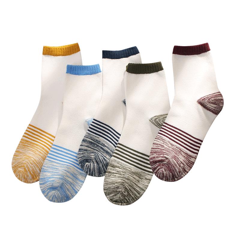 袜子男士春夏款韩版长袜毛线中筒袜日系原宿男袜长筒吸汗运动棉袜