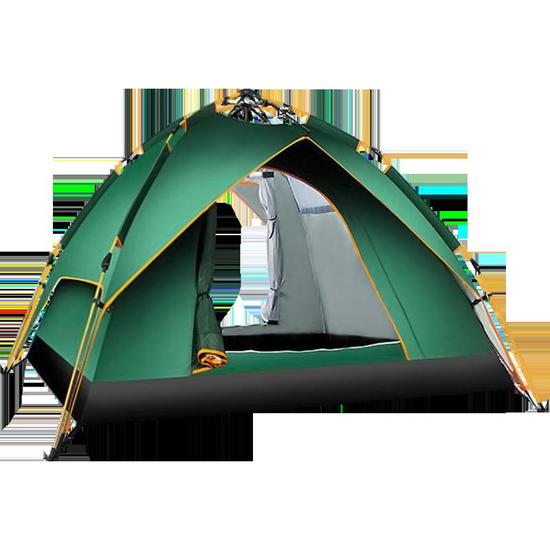 野外帐篷户外野餐沙滩郊游野营露营加厚防雨防暴雨全自动速开儿童