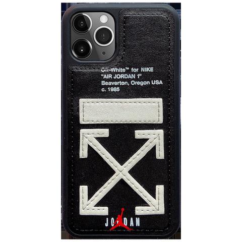 新款潮牌苹果x手机壳8plus/xs max全包边iPhonexr硅胶7p防摔11pro皮质个性iphonex情侣offwhite保护套xmax男