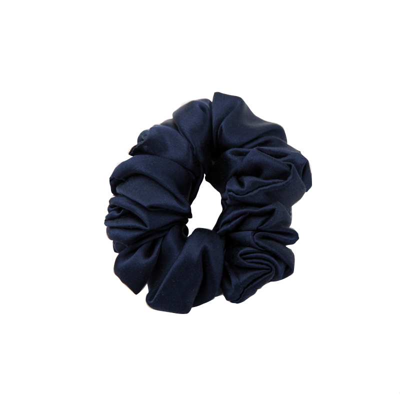 Silkiss/丝侬真丝发圈女ins风简约100%桑蚕丝盘发箍橡筋发绳发饰