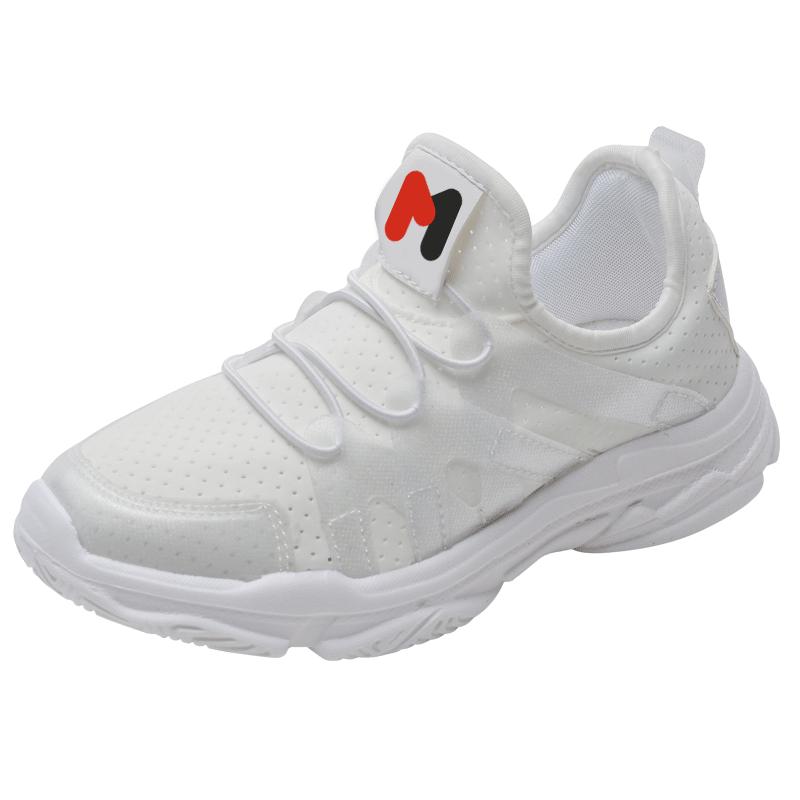 女童小白鞋2019新款夏季儿童鞋男童网面透气白色运动鞋小女孩鞋子