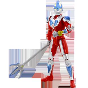 萬代奧特曼玩具 超可動 維克特利 銀河奧特曼全武裝 多關節可動