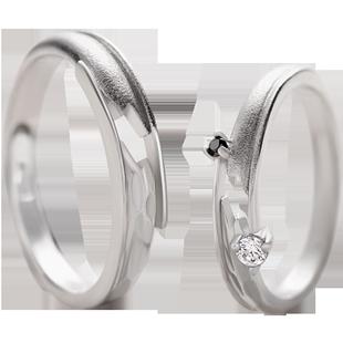 花芽原創設計不期而遇情侶戒指純銀一對簡約個性學生可調節對戒