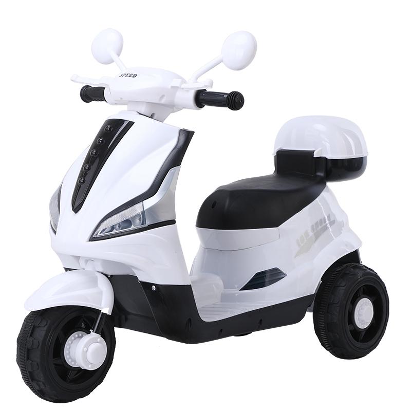 新款1-6岁电动摩托车小孩玩具车