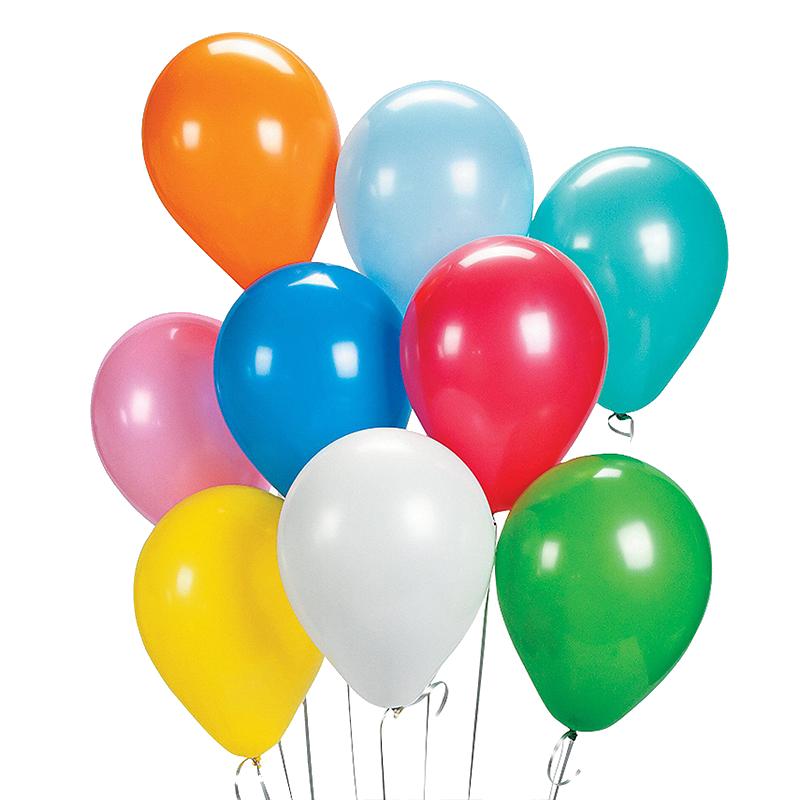 生日气球 100个店庆婚房装饰圣诞节创意派对场景布置儿童周岁汽球