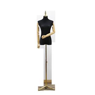 男女儿童模特橱窗展示道具半身衣架