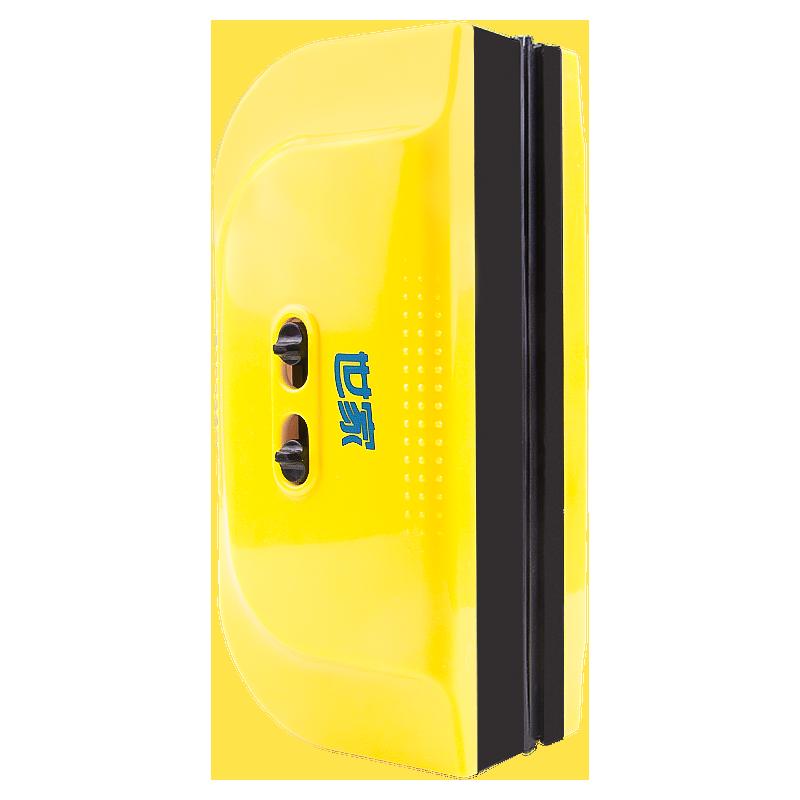 世家易磁双面擦窗器 可调磁力擦玻璃器加宽刮窗器单双层通用新品