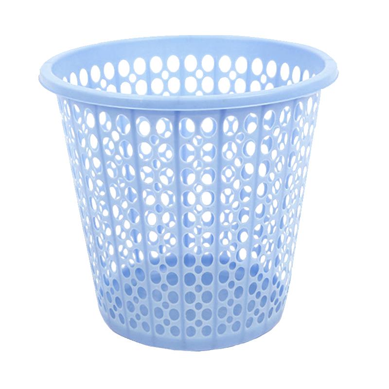 余裕镂空家用客厅卧室大号垃圾桶创意厨房卫生间无盖纸篓杂物篮